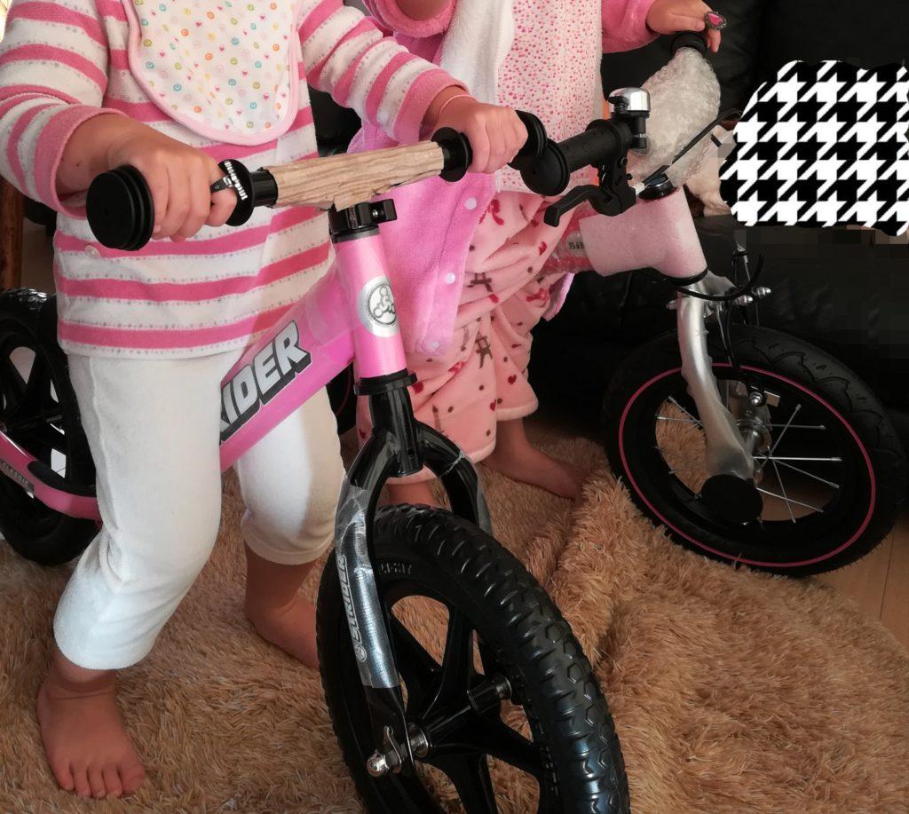 ストライダーとへんしんバイクの比較